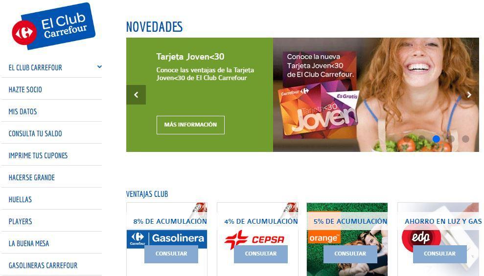 Club Carrefour Beneficios Ventajas Y Descuentos Del Club Carrefour