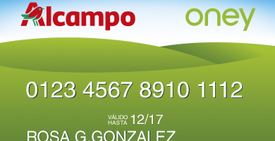 tarjeta alcampo de credito