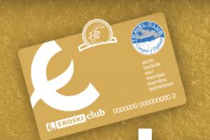Tarjeta Oro de EROSKI Club