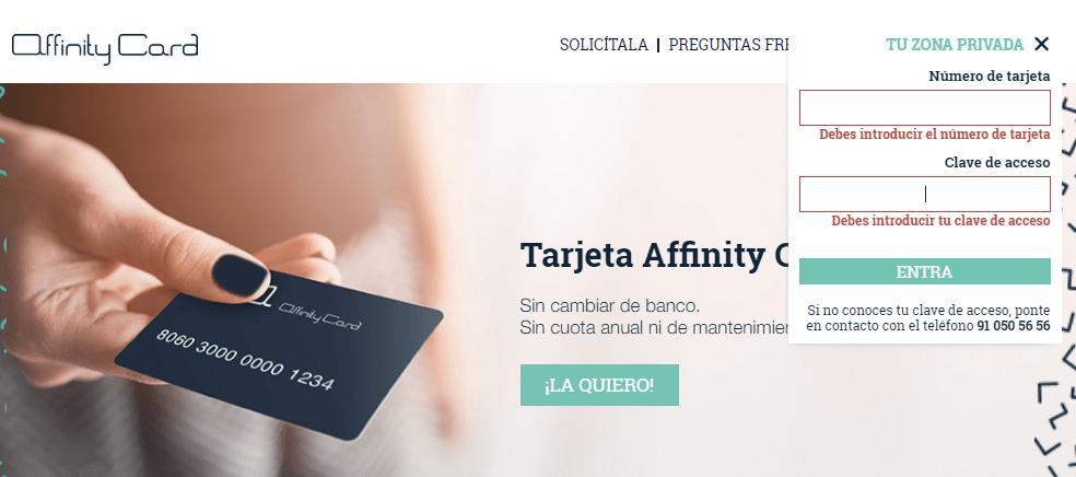 Affinity Card Visa