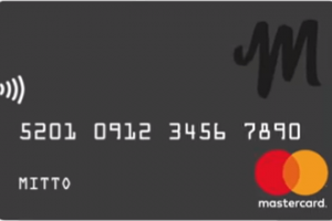 Tarjeta Mitto MasterCard Prepago