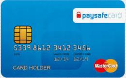 Tarjeta paysafecard Mastercard