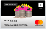 Rebellion Pay - Tarjeta prepago Mastercard
