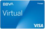 Tarjeta Virtual BBVA prepago Internet