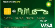 Tarjeta Visa Mi BP