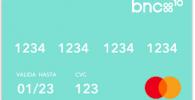 BNC10 tarjeta y cuenta
